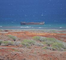 Shipwreck Beach, Lana'i by whos-that-girl