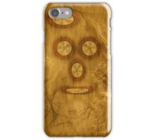 ©DA On Wood Cover iPhone Case/Skin