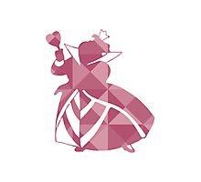 Queen of Hearts Photographic Print