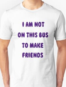 Public Transport Shirt T-Shirt