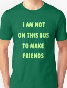 Public Transport Shirt- green version T-Shirt