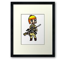 The Legend of Vera (The Hero of Canton) Framed Print