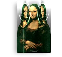 Yes, I am Looking at You, So What! Canvas Print