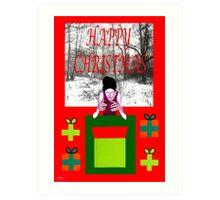 HAPPY CHRISTMAS 33 Art Print