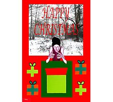HAPPY CHRISTMAS 33 Photographic Print