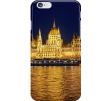 Hungarian parliament building, Budapest iPhone Case/Skin