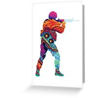 Hyper Beast CSGO Greeting Card
