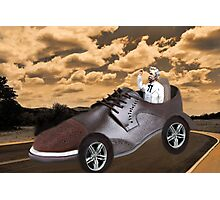 ▂ ▃ ▅ ▆ █ TRY DRIVING A MILE IN MY SHOE ~ PICTURE/CARD █ ▆ ▅ ▃  Photographic Print