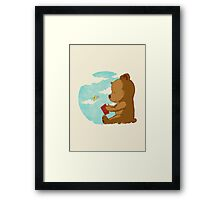 Early Lesson - Prints, Stickers, iPhone & iPad Cases Framed Print