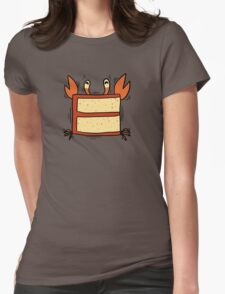 Crabcake Womens Fitted T-Shirt
