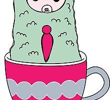 Alpaca Mug by Stephanie Keyes
