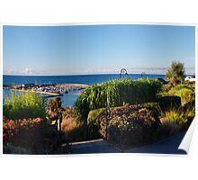 Garden Overview ~ Lyme Regis Poster