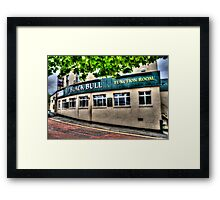 Black Bull Gateshead Framed Print