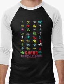 Chaos Men's Baseball ¾ T-Shirt