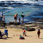 Shelly Beach Rock Pool by Karen Eaton