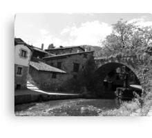 San Cayetano´s Bridge (Potes, Cantabria, Spain) Canvas Print
