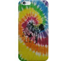 tie dye elephant hippie case iPhone Case/Skin