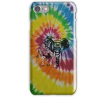 tie dye elephant hippie case iPhone Case/Skin