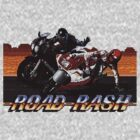 Vintage Video Game Road Rash by Nasherr