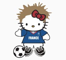 Hello Kitty France Soccer by daleos