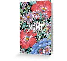 MGMT Greeting Card