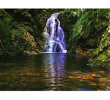 Big Burn Waterfall. Photographic Print