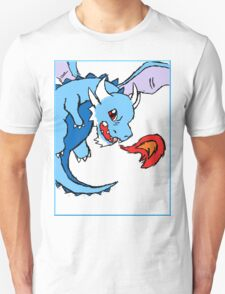 Blue Dragon /w Border T-Shirt