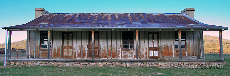 Orroral Valley Homestead by Tim Coleman