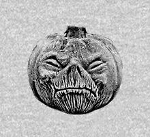 Jackolantern Halloween Digital Engraving Image Hoodie
