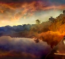 Algonquin Sunset by billbirtch