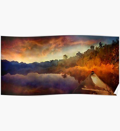 Algonquin Sunset Poster