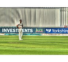 Cricketer Photographic Print