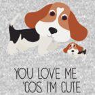 You Love Me . . . (Beagle) by BonniePortraits