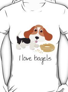 I Love Bagels T-Shirt