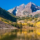 Colorado Maroon And Gold by Greg Summers