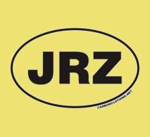 JRZ New Jersey Euro Oval Sticker Kids Clothes