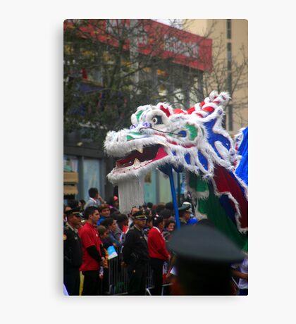 Chinese Dragon - Corso Wong Canvas Print