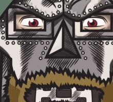 Beard Von Doom Sticker