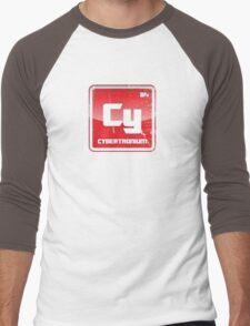 Element of Cybertronium (Grunge) Men's Baseball ¾ T-Shirt