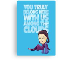 Among the Clouds (Star Wars)  Canvas Print