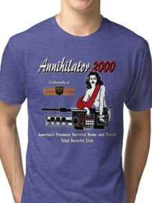 Annihilator 2000 Beverly Hills Survival Boutique Tri-blend T-Shirt