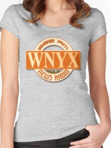 News Radio WNYX Women's Fitted Scoop T-Shirt