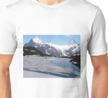Bachalpesee with Fiescherhornen in the background, Switzerland Unisex T-Shirt
