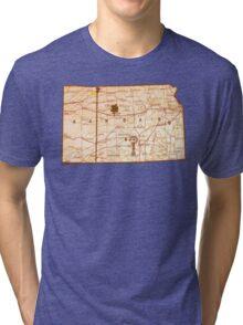 Rolling Kansas Tri-blend T-Shirt