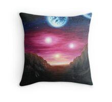 Gliese 667Cc exoplanet Throw Pillow