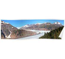 Panoramic Salmon Glacier Poster