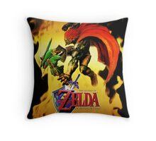 Ocarina of Time Throw Pillow