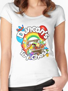 Duncan's Toy Chest Women's Fitted Scoop T-Shirt