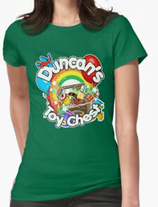 Duncan's Toy Chest Womens Fitted T-Shirt