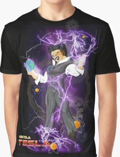 DBZ Tesla Graphic T-Shirt